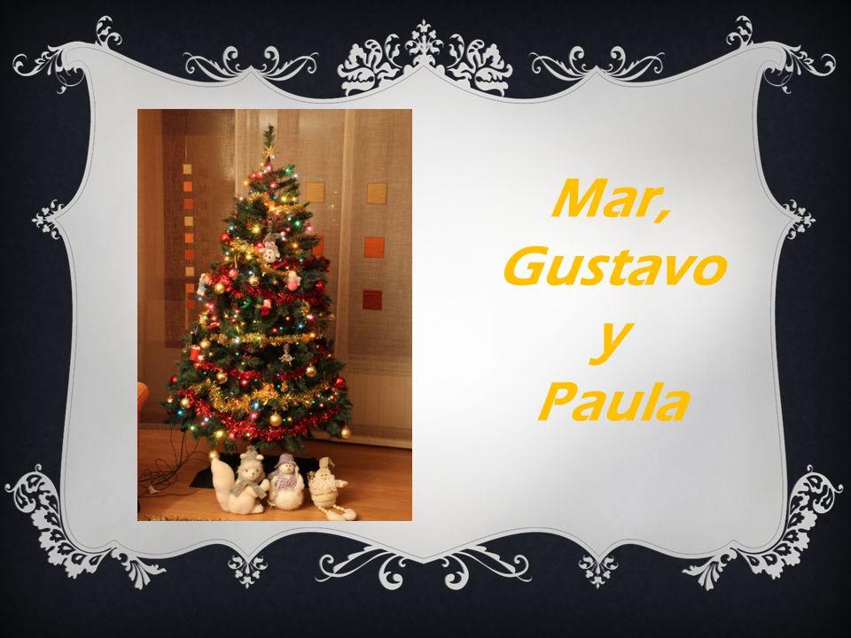 Mar, Gustavo y Paula