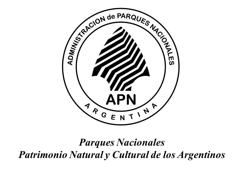 Parques Nacionales Patrimonio Natural y Cultural de los Argentinos