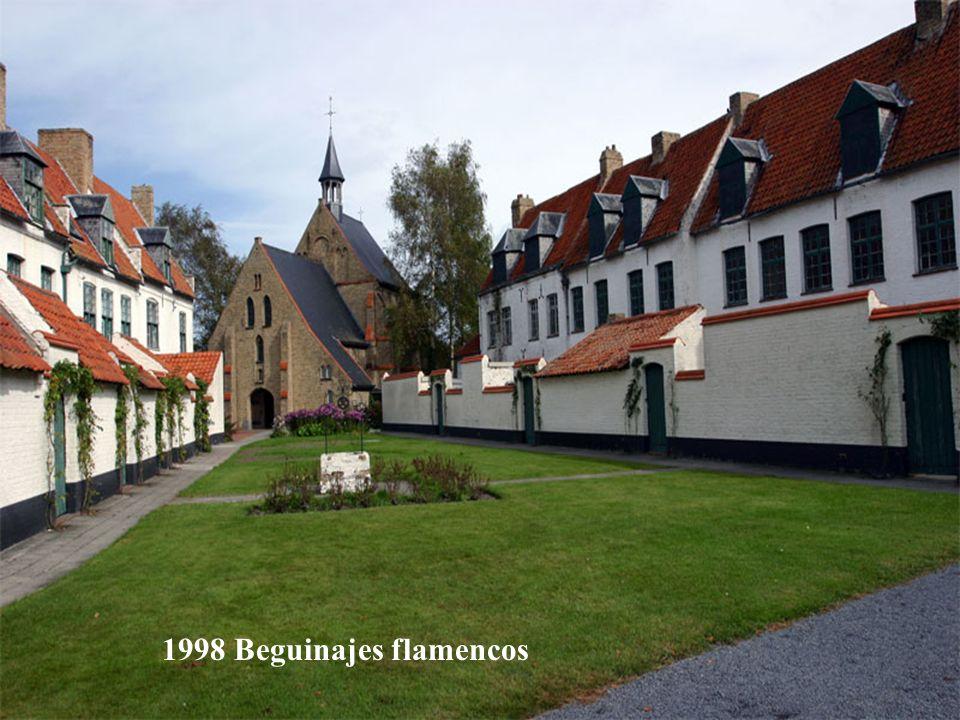 2000 Centro histórico de Brujas