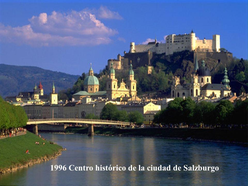 2001 Centro histórico de Viena