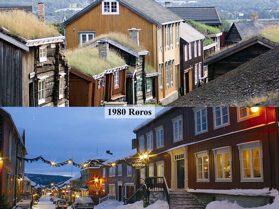 1979 Barrio de Bryggen en Bergen