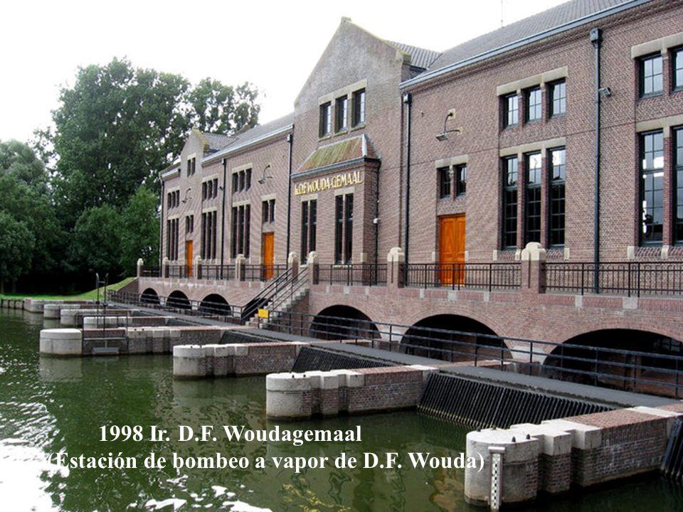 1997 Red de molinos de Kinderdijk-Elshout