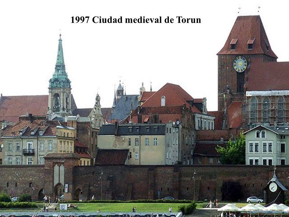 1992 Ciudad vieja de Zamosc