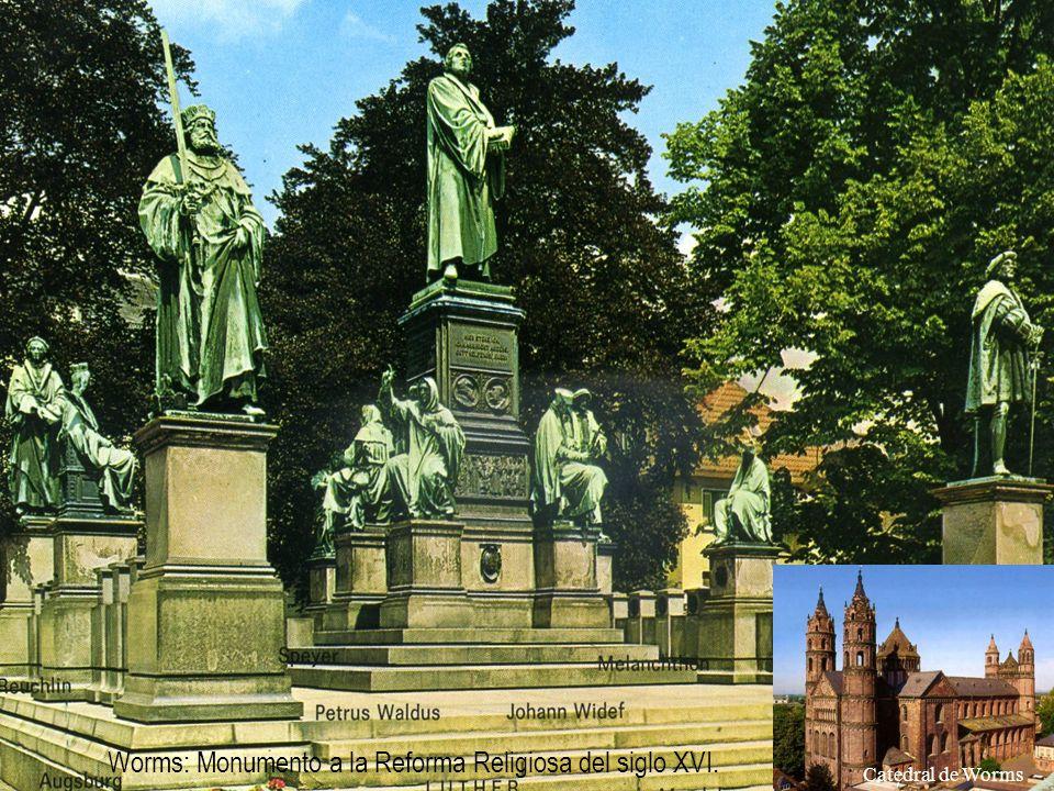 Heidelberg, donde el Dr. Luther en el año 1518 presento sus tesis y resoluciones ante los delegados de la orden de los Agustinos, y donde recibió la o