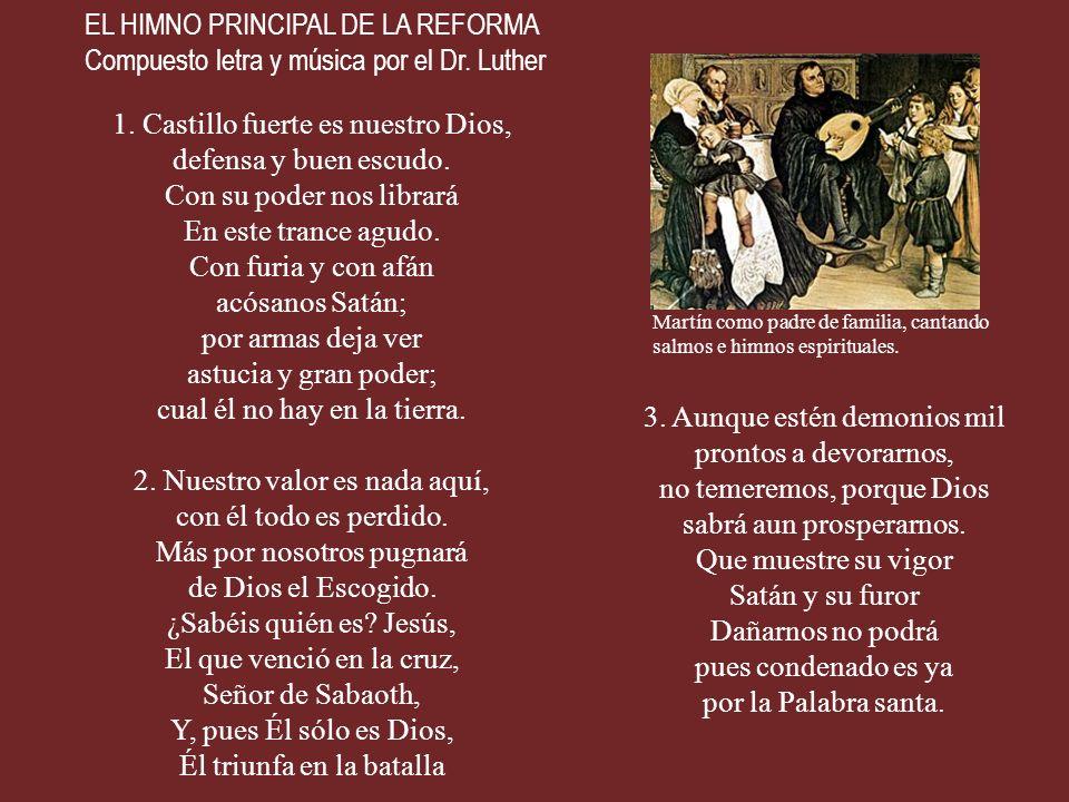 SOLO A DIOS LA GLORIA Uno de los lemas de la Reforma.