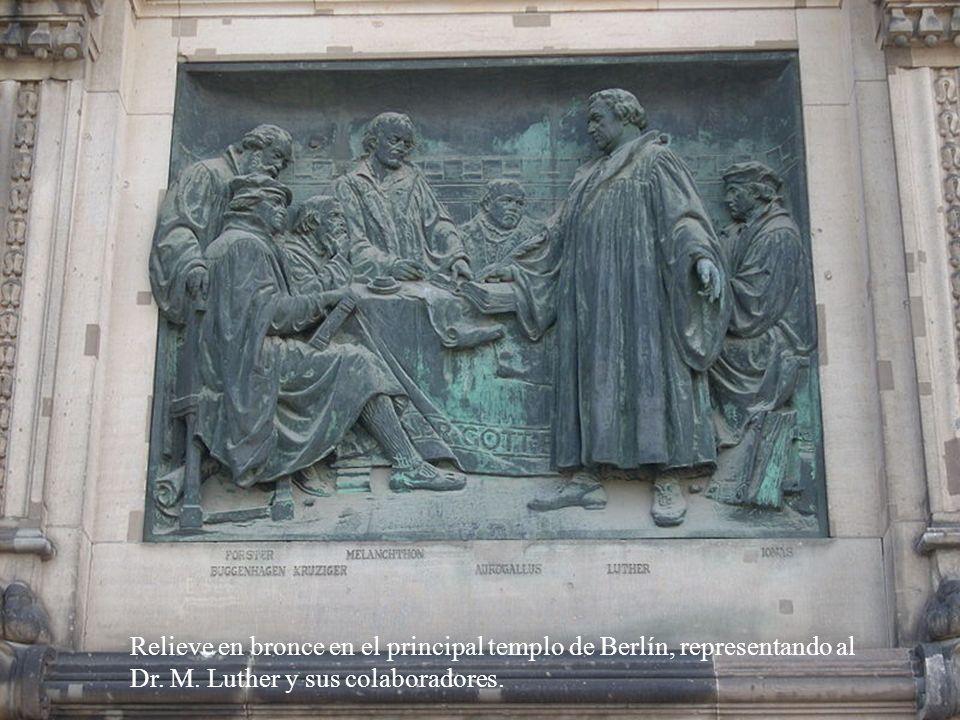 Berlín, el monumento-sala-iglesia más representativa de la Reforma.