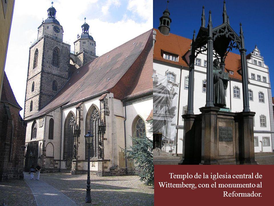 Leipzig.Edificio donde el Dr. Luther introdujo la Reforma en la ciudad.