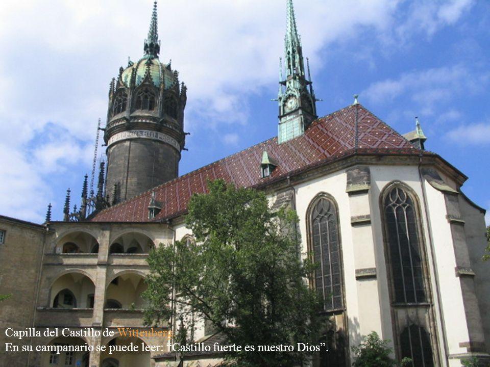 Leipzig: Fachada del Templo de la iglesia Thomaskirche.