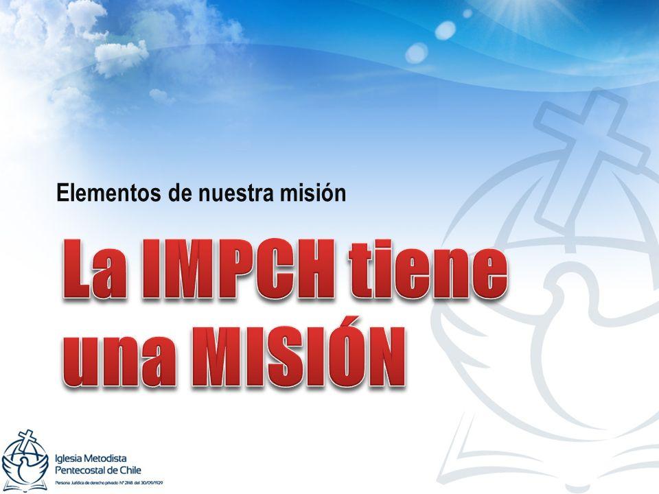 Elementos de nuestra misión