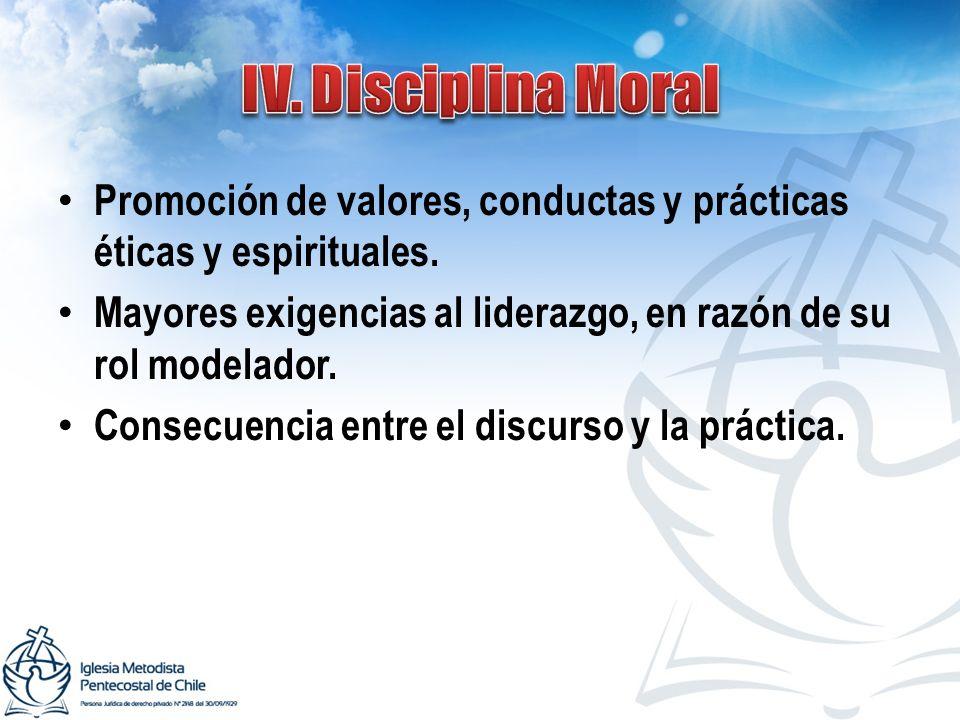 Promoción de valores, conductas y prácticas éticas y espirituales.