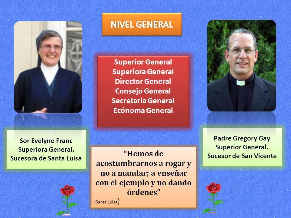 Sor Evelyne Franc Superiora General. Sucesora de Santa Luisa Sor Evelyne Franc Superiora General. Sucesora de Santa Luisa Padre Gregory Gay Superior G