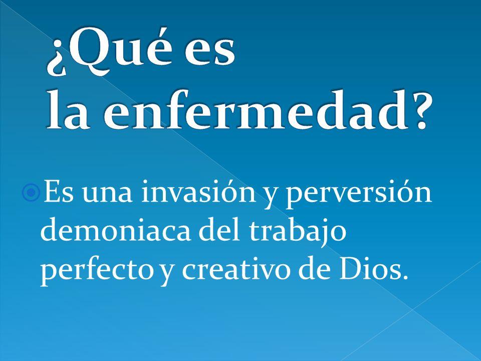 Es una invasión y perversión demoniaca del trabajo perfecto y creativo de Dios.