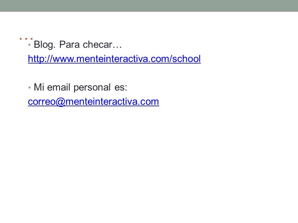 … Blog.