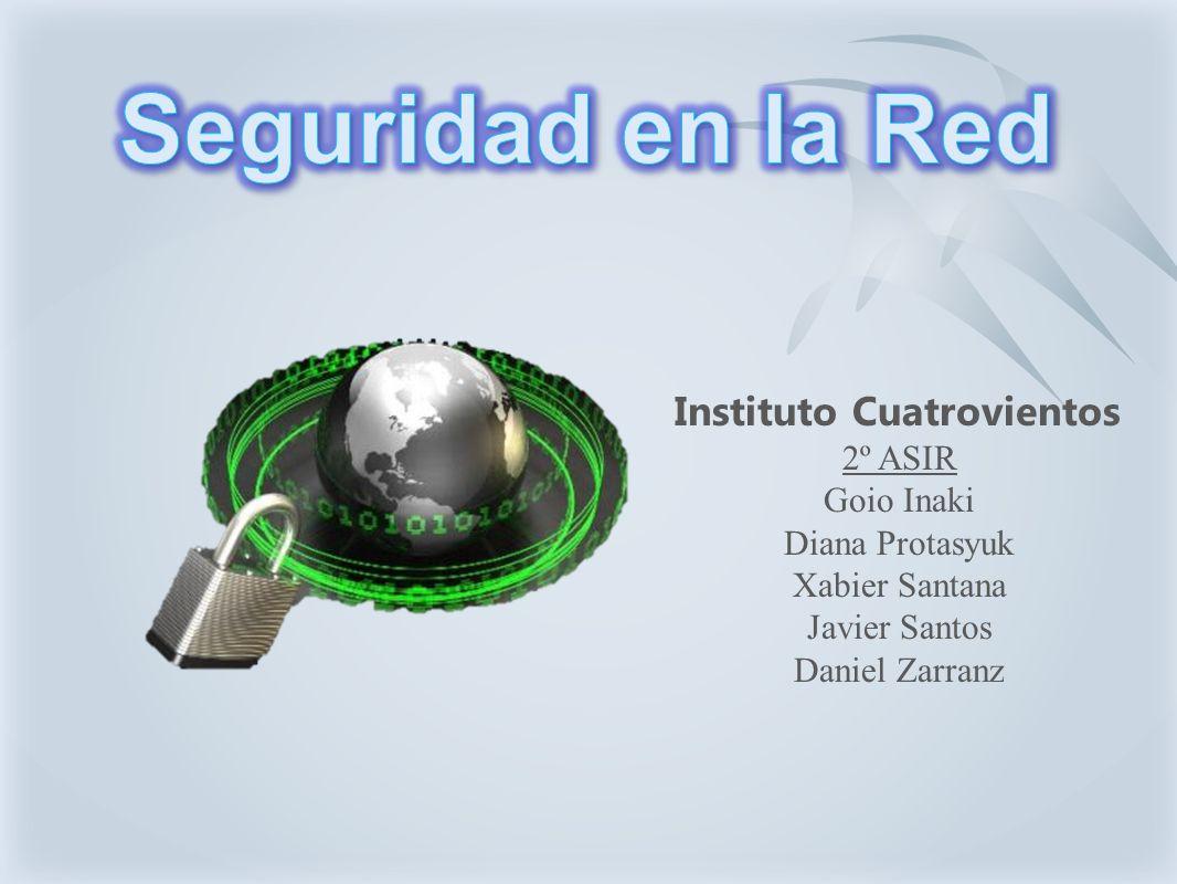 Instituto Cuatrovientos 2º ASIR Goio Inaki Diana Protasyuk Xabier Santana Javier Santos Daniel Zarranz