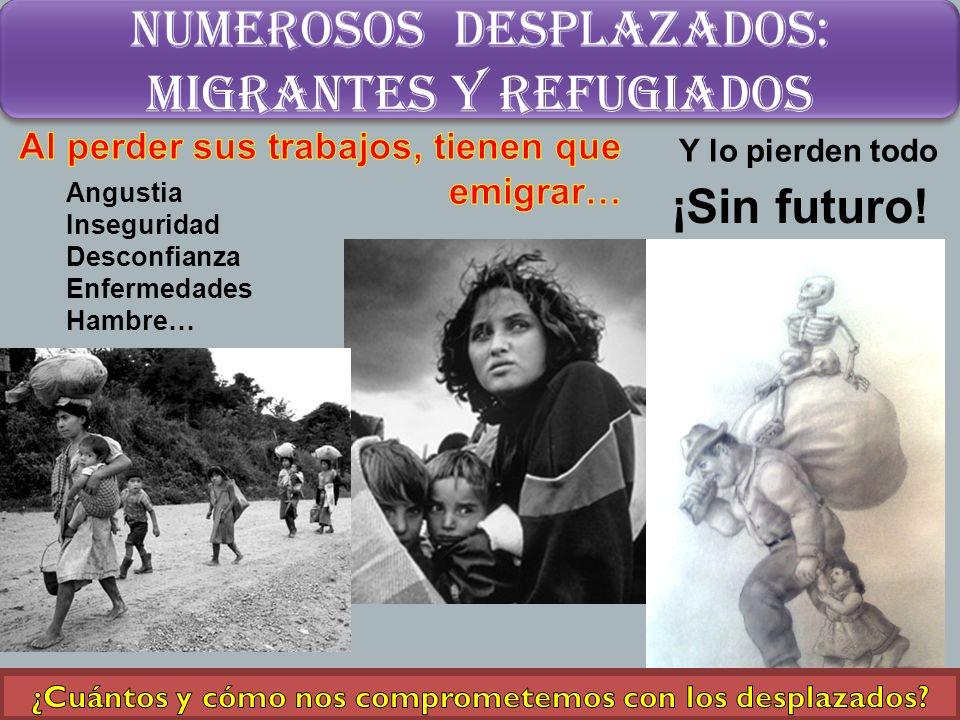 inmensos Cinturones de miseria Vida infrahumana Sin atenciones básicas ¿Cuántas casas y obras tenemos entre ellos.
