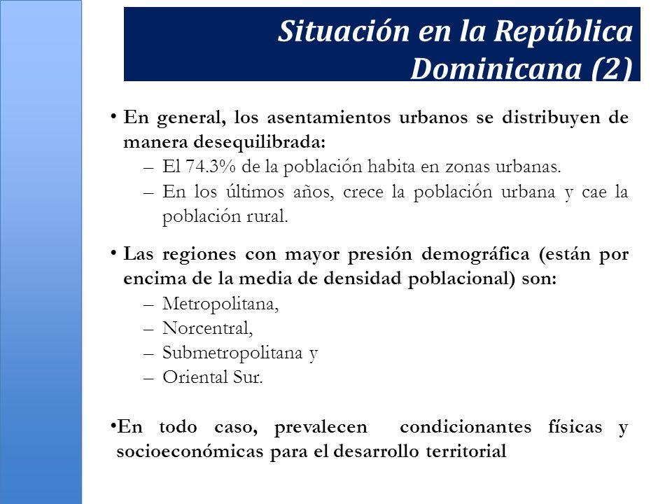 El tema de las condiciones de vida La situación de pobreza se manifiesta de manera diferente entre las distintas regiones del territorio nacional.
