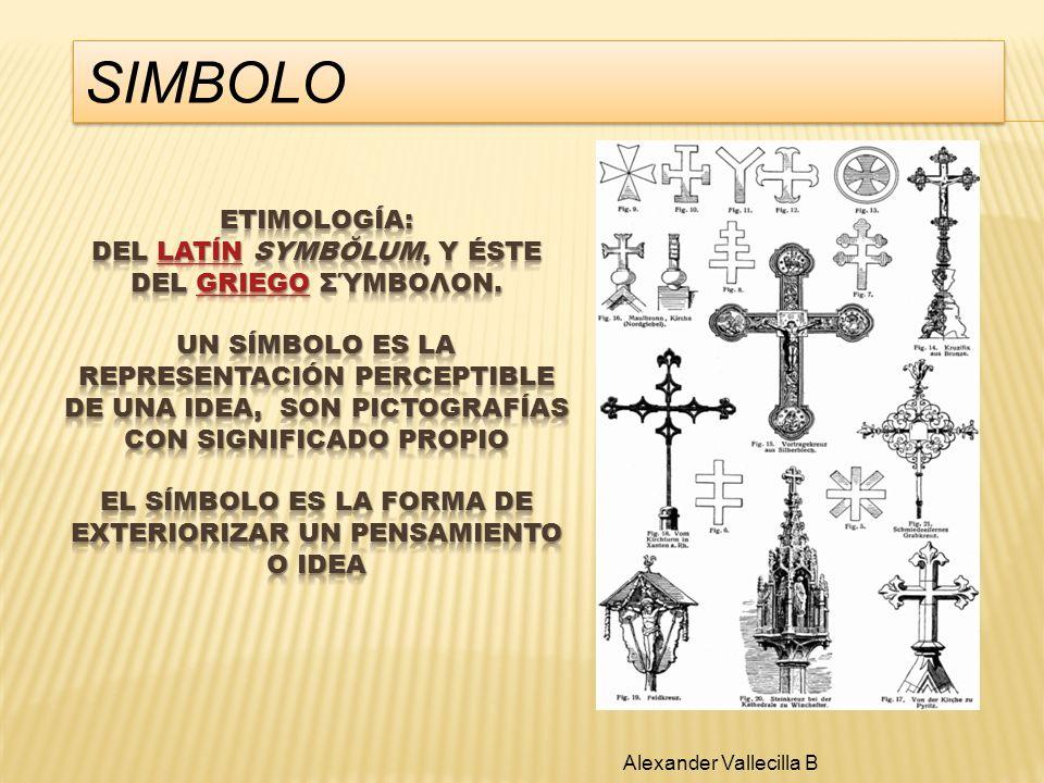 SIMBOLO Alexander Vallecilla B