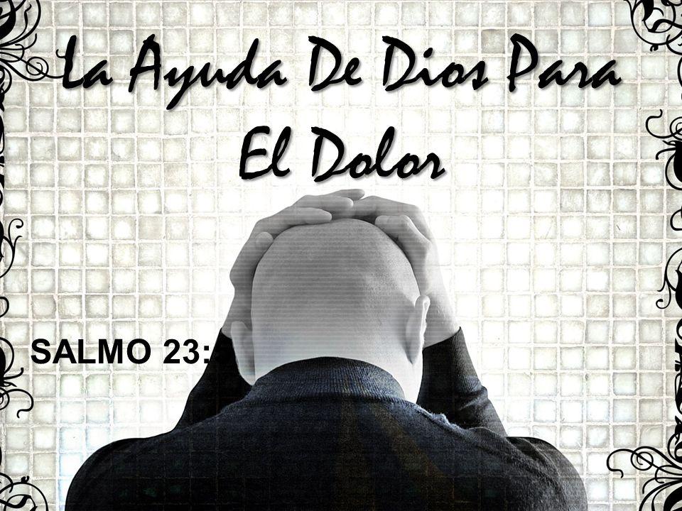 La Ayuda De Dios Para El Dolor SALMO 23:5