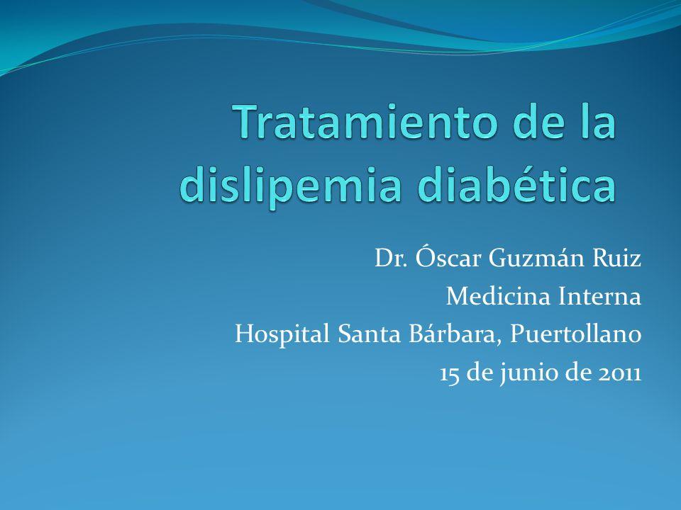 Dr. Óscar Guzmán Ruiz Medicina Interna Hospital Santa Bárbara, Puertollano 15 de junio de 2011