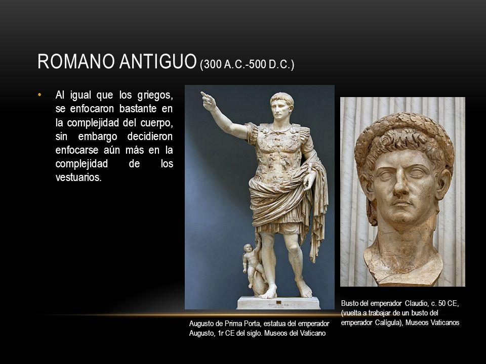 ROMÁNTICO (1,000 - 1,300 ) Aunque conservaba mucho del arte romano, lo muestra en una manera muy degenerada.