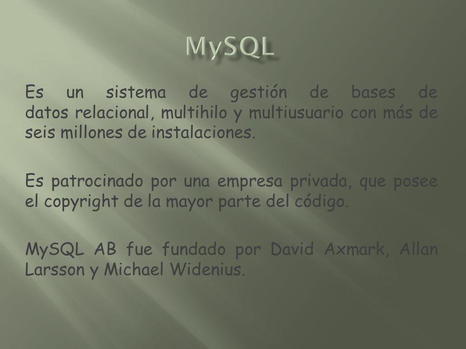 SQL («lenguaje de consulta estructurado») fue comercializado por primera vez en 1981 por IBM, el cual fue presentado a ANSI y desde entonces ha sido considerado como un estándar para las bases de datos relacionales.
