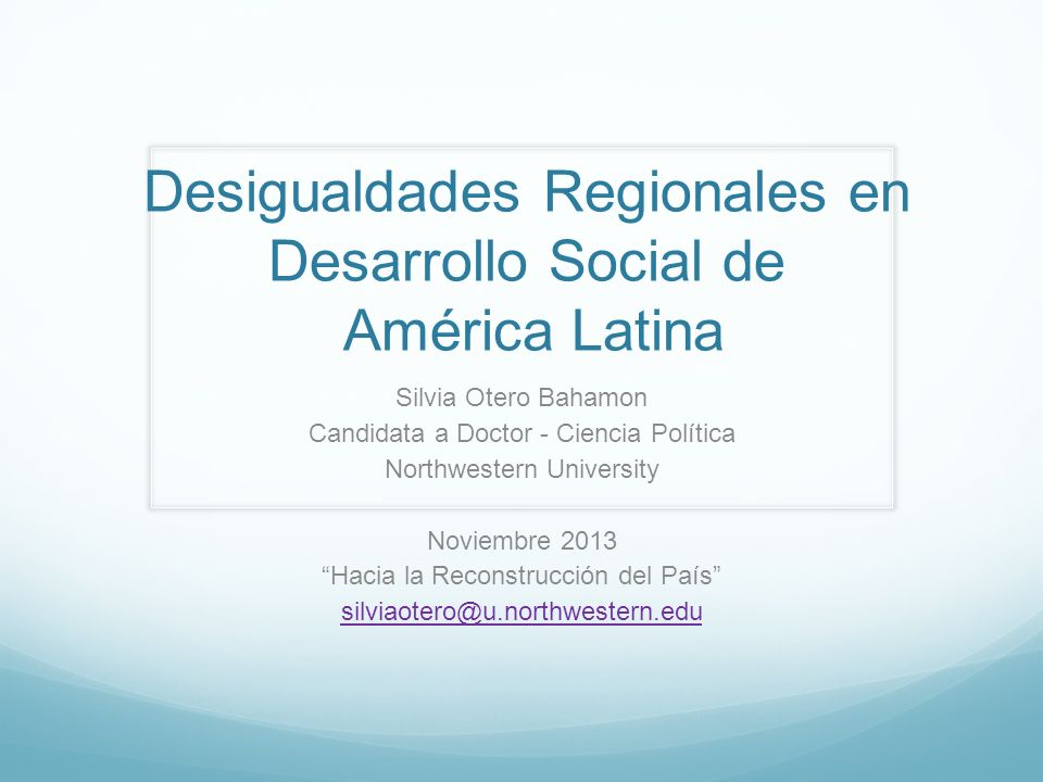 Gini GDP per capita Desigualdad Regional en Analfabetismo