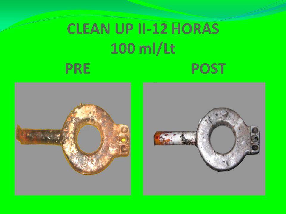 CLEAN UP II-12 HORAS 100 ml/Lt PRE POST