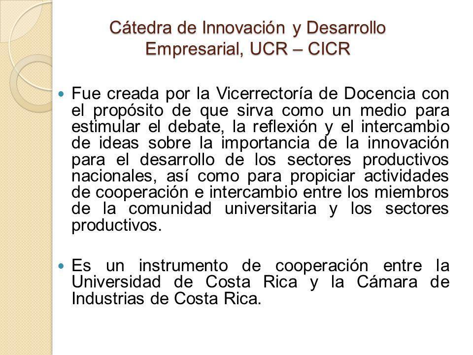 Muchas Gracias Visítenos en http://catedrainnovacion.ucr.ac.cr e-mail: rafael.herrera@ucr.ac.cr http://catedrainnovacion.ucr.ac.cr