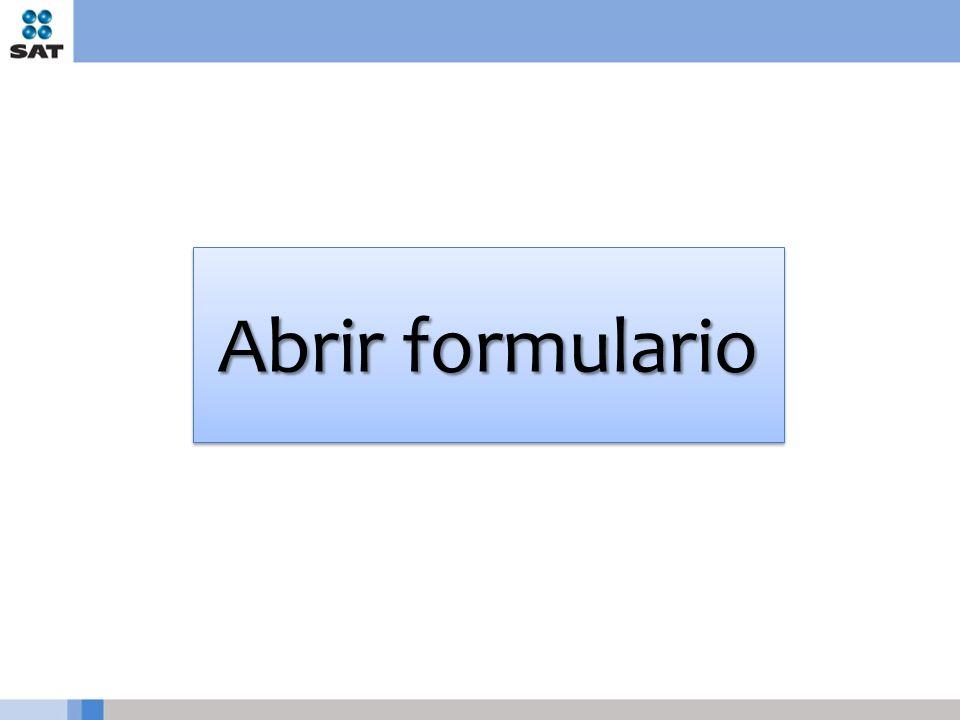 Abrir formulario
