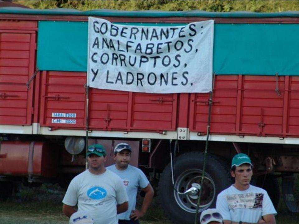 ¿Sabía que en Argentina, cualquiera tiene derecho a esforzarse para progresar , ¡menos un productor agropecuario.