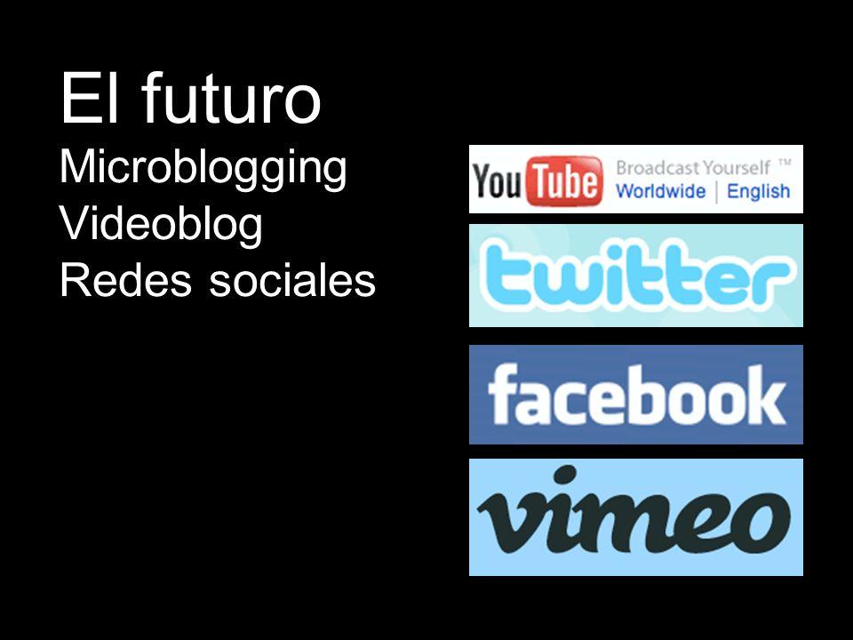 Microblogging Videoblog Redes sociales El futuro