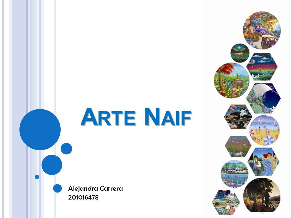 La denominación naíf (del francés naïf, ingenuo ) se aplica a la corriente artística caracterizada por la ingenuidad y espontaneidad, el autodidactismo de los artistas, los colores brillantes y contrastados, y la perspectiva acientífica captada por intuición.