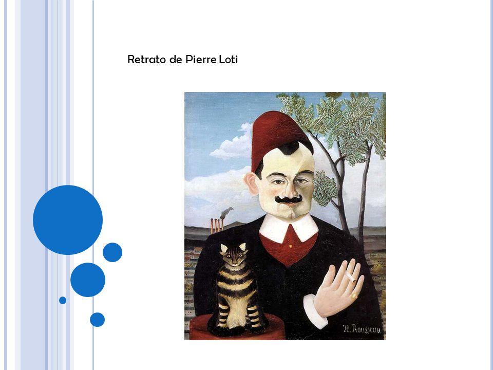 Retrato de Pierre Loti