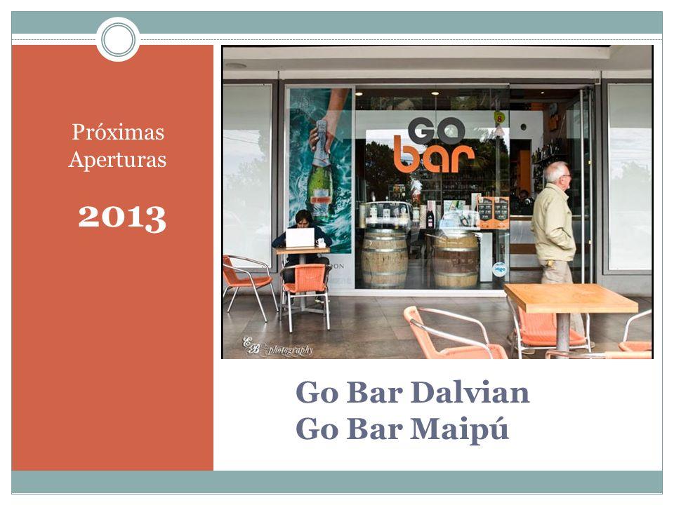 Go Bar Dalvian Go Bar Maipú Próximas Aperturas 2013