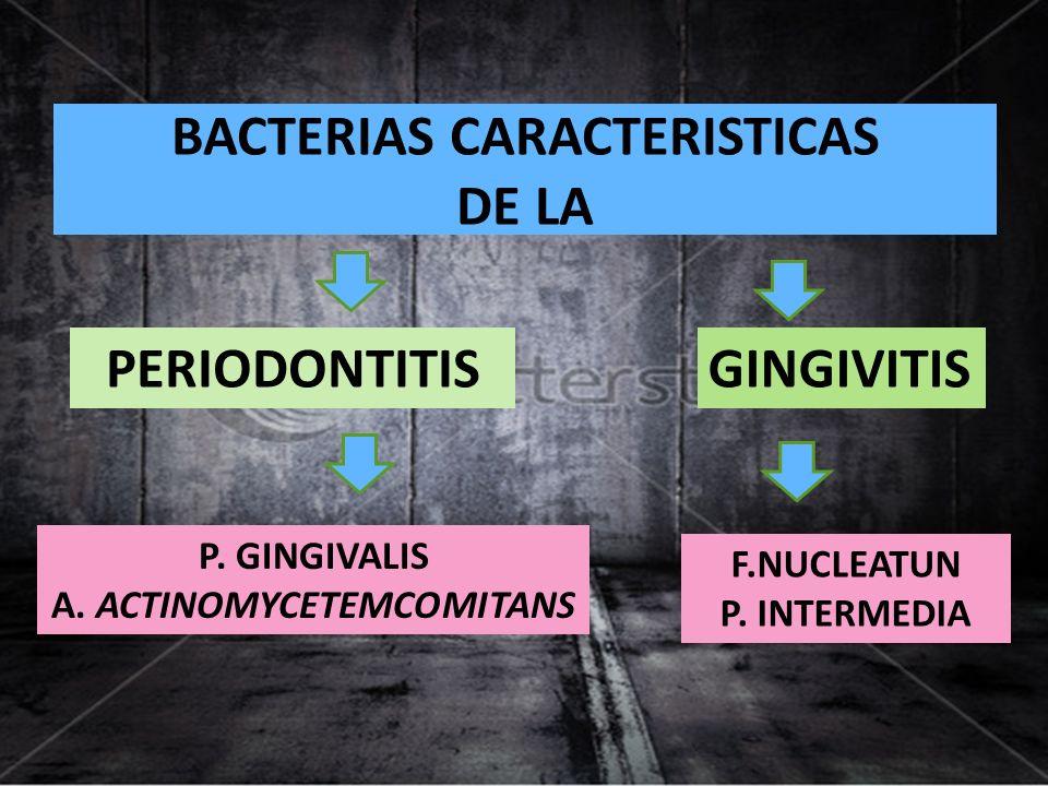 PODER PATOGENO periodontitis