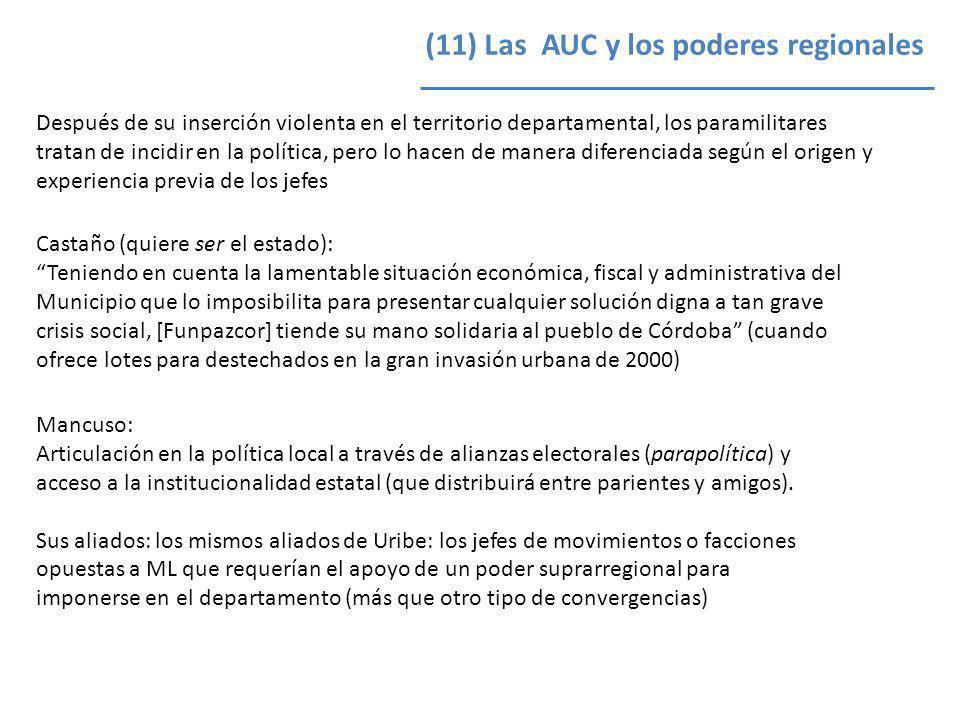 Castaño (quiere ser el estado): Teniendo en cuenta la lamentable situación económica, fiscal y administrativa del Municipio que lo imposibilita para p
