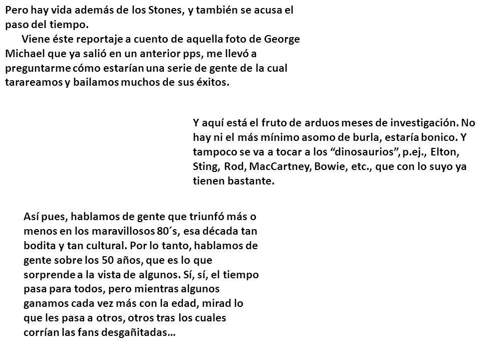 THE ROLLING STONES, SUS SATÁNICAS MAJESTADES, EL PARADIGMA DE LA LONGEVIDAD EN EL ROCK.