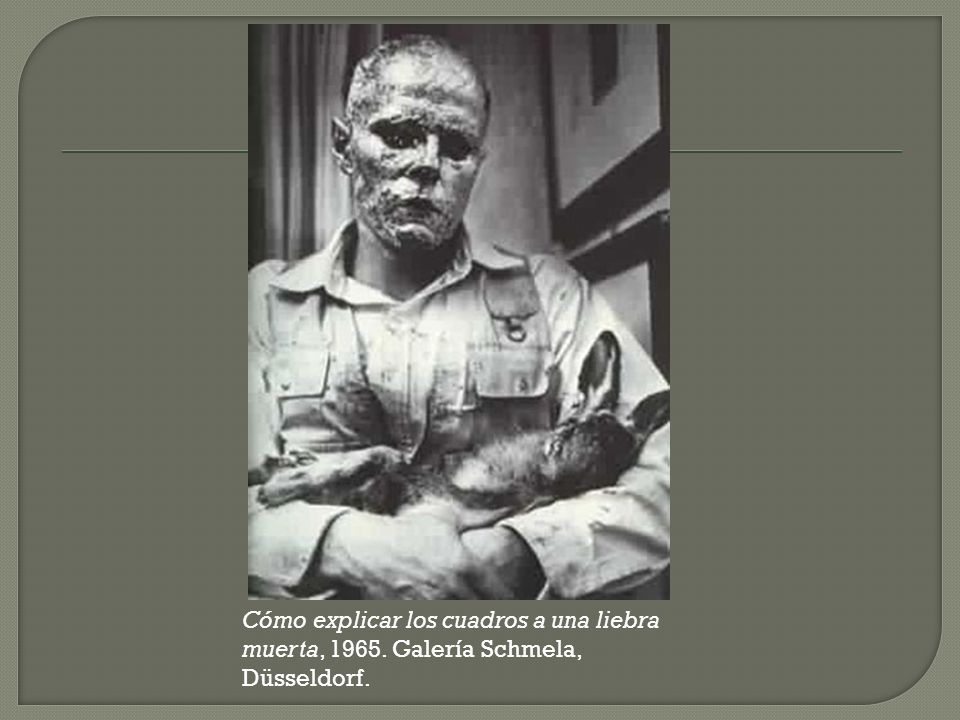 I like America and America likes me http://vodpod.com/watch/1744592-joseph-beuys-i-like-america-and-america- likes-me