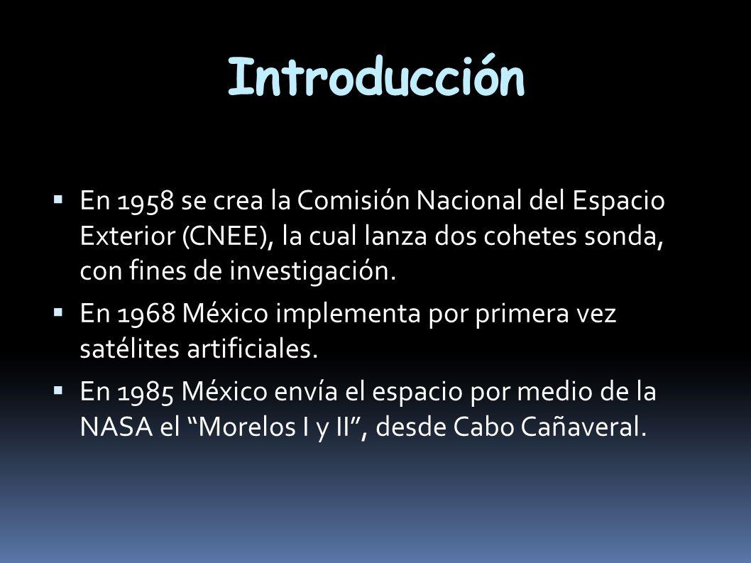 En 1993 se puso en órbita el Solidaridad I y II, en convenio con Arianespace desde la Guyana Francesa.