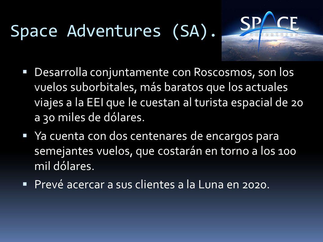Space Adventures (SA).