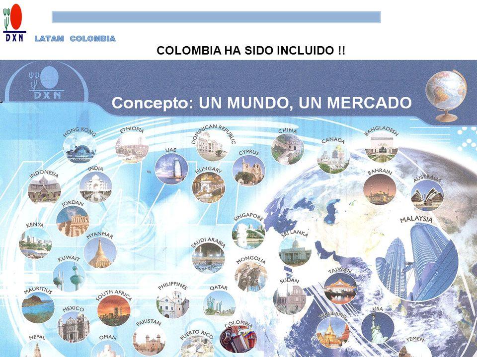 COLOMBIA HA SIDO INCLUIDO !!