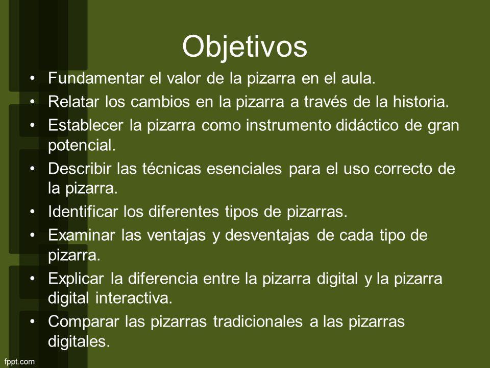 LO ESCENCIAL Medio de transmisión de información Medio de percepción directa La pizarra