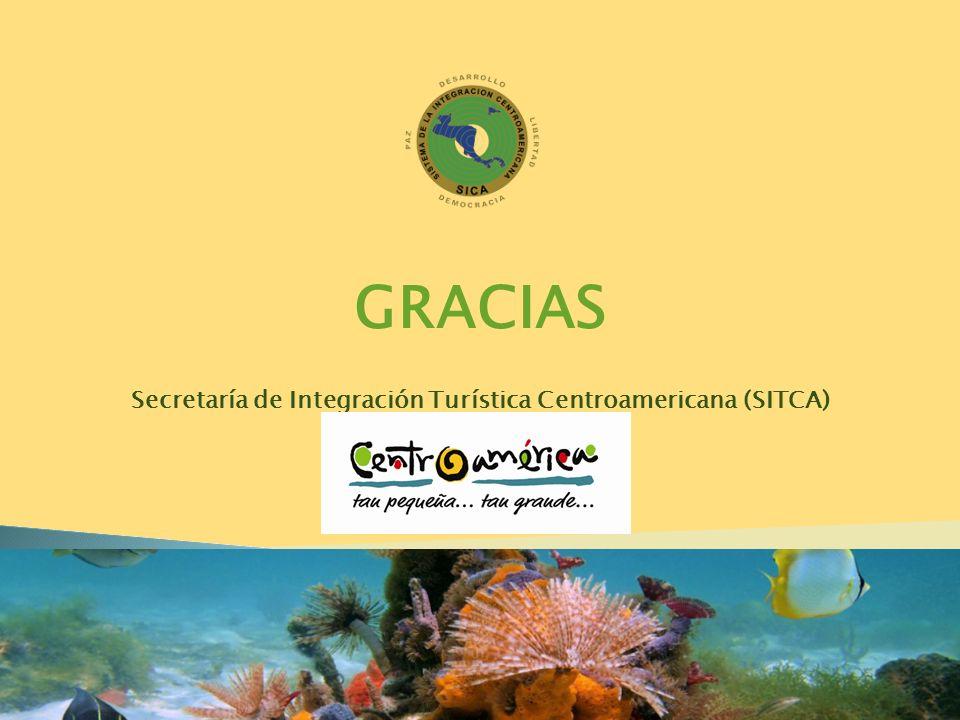 GRACIAS Secretaría de Integración Turística Centroamericana (SITCA)