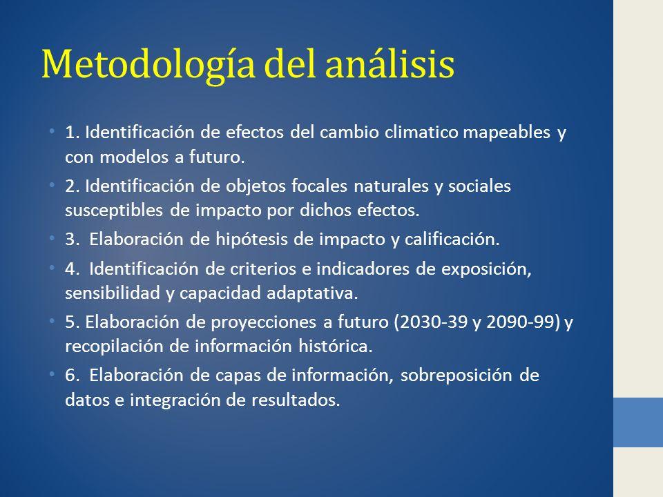 Metodología del análisis 1.