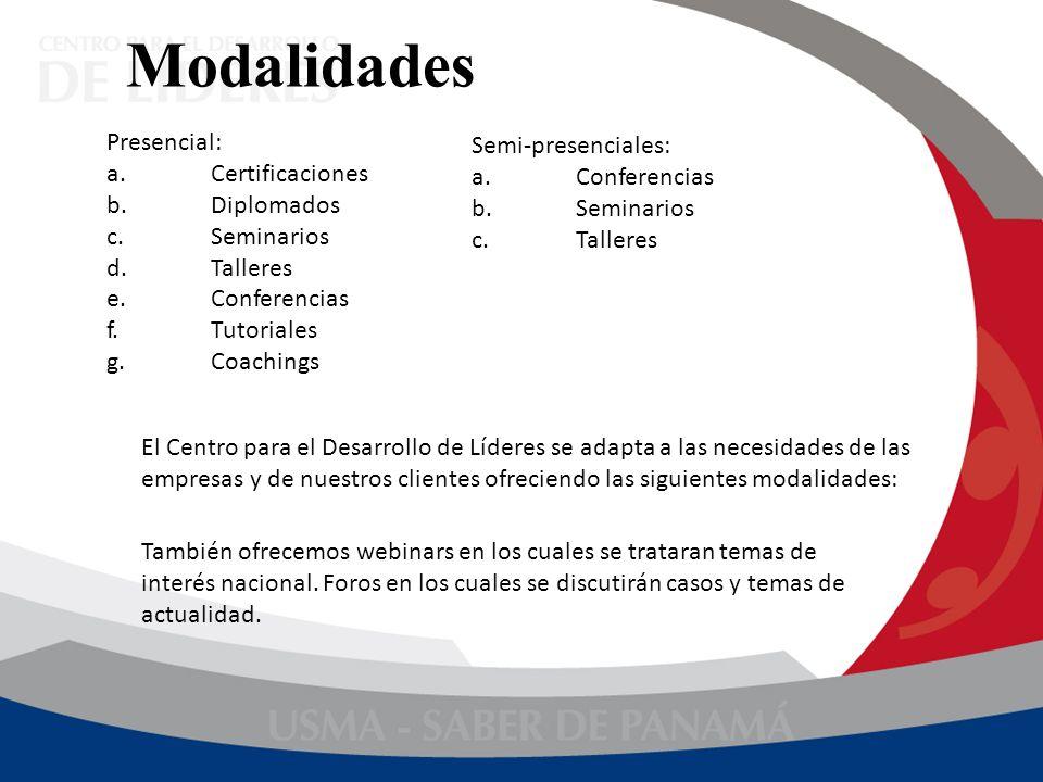 Diplomados Tienen duración de 120 horas, consta de 8 módulos y dos proyectos virtuales.