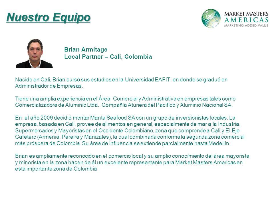 Nacido en Cali, Brian cursó sus estudios en la Universidad EAFIT en donde se graduó en Administrador de Empresas.
