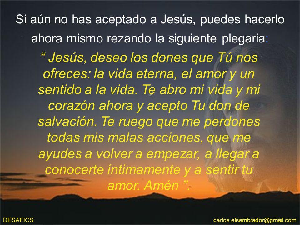¿Conoces a Aquel, a quien conocer es la vida eterna? ¿Y TU? ÉL SE MANIFESTÓ A TRAVÉS DE SU HIJO: Jesús dijo: El que me ha visto a Mí, ha visto al Padr