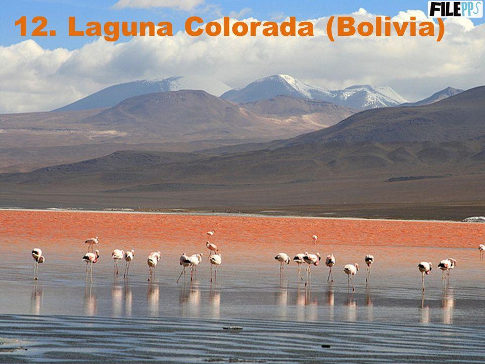 11. Parque Nacional Noel Kempff Mercado (Bolivia)