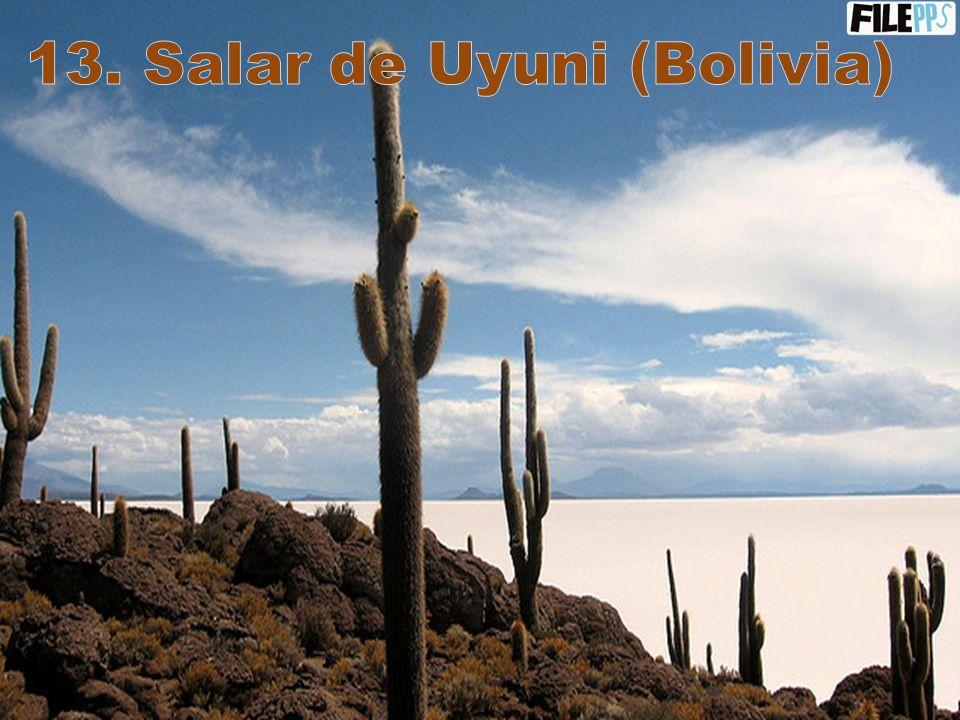 12. Laguna Colorada (Bolivia)