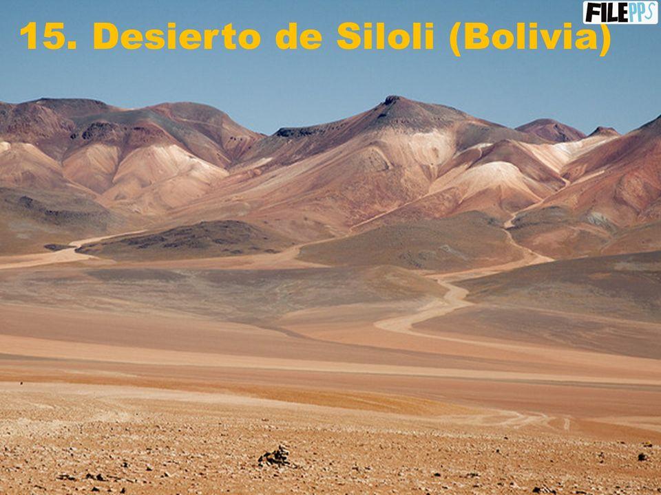 14. Parque Nacional Madidi (Bolivia)